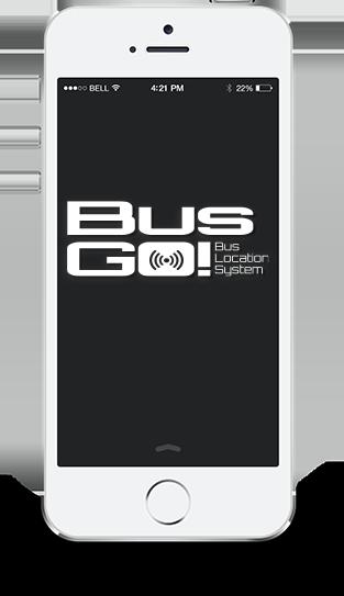 バスロケーションシステム BusGO!表示画面